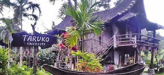 taruko cafe bukittinggi jalan ke lokasi obyek wisata taruko
